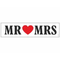 autó rendszám - Mr és Mrs