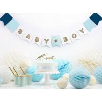 babaváró zászlófüzér - Baby Boy
