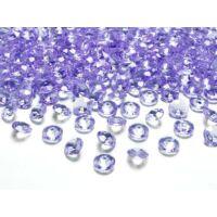 gyémánt dekorkő 12 mm (100 db/cs) - lila