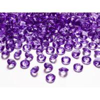 gyémánt dekorkő 12 mm (100 db/cs) - sötétlila