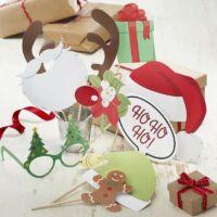 fotókellékek - karácsonyi, vintage