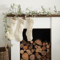 karácsonyi fagyöngy füzér