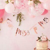 lánybúcsú füzér - Miss To Mrs