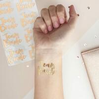 lánybúcsú tetoválás (16 db/cs) - Team Bride