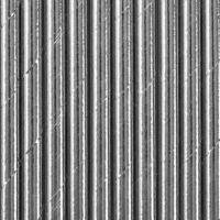 papír szívószál (10 db/cs) - ezüst