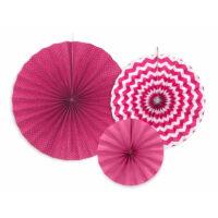 papír rozetta (3 db/cs) - pink