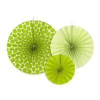 papír rozetta (3 db/cs) - zöld