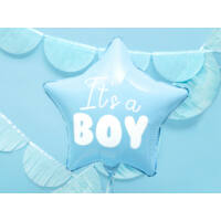 babaváró fólia lufi 45 cm – It's a Boy