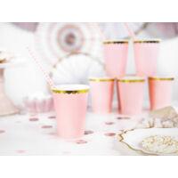 papír pohár (6 db/cs) – rózsaszín