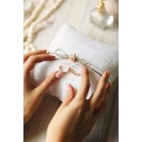 gyűrűpárna - vintage, barna