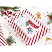karácsonyi ajándékcímke (12 db/cs) - Mikulás