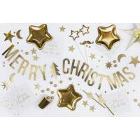 Merry Christmas füzér - arany