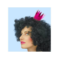 lánybúcsú mini korona (3 db/cs) - pink