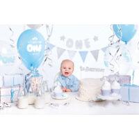 parti dekorációs készlet – első szülinap, fiú