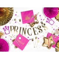 szalvéta 33x33 cm 3 rétegű (20 db/cs) - Princess