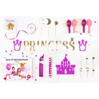 parti dekorációs készlet – hercegnő