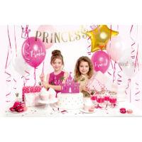 parti dekorációs készlet - hercegnő