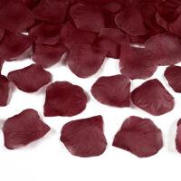 konfetti ágyú rózsaszirmokkal (60 cm) – bordó