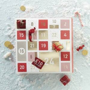 adventi naptár doboz