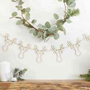 karácsonyi füzér fából – rénszarvas