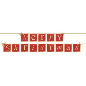 Merry Christmas füzér