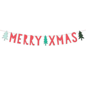 Merry Xmas füzér