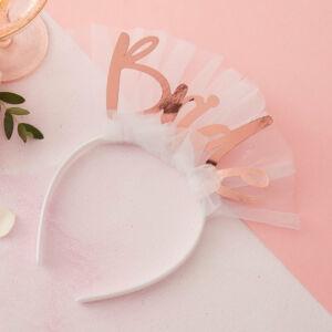 lánybúcsú hajpánt – Bride