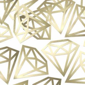 papír konfetti (5 db/cs) – gyémánt