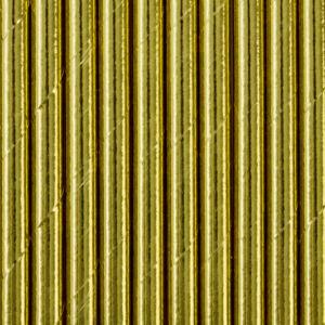 papír szívószál (10 db/cs) – arany