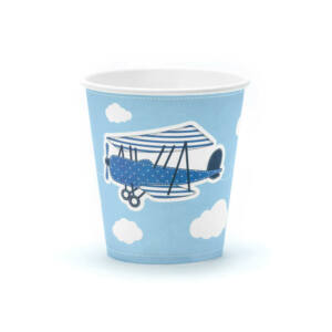 papír pohár (6 db/cs) – kisrepülős