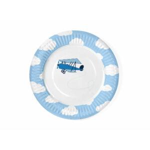 papír tányér (6 db/cs) – kisrepülős