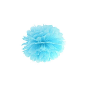 pom-pom 25 cm – világoskék