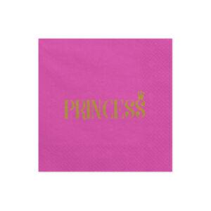 szalvéta 33x33 cm 3 rétegű (20 db/cs) – Princess