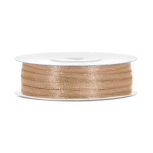 3 mm széles szatén szalag (50 m) – arany