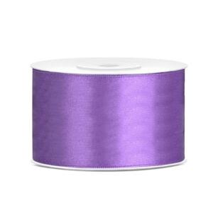 38 mm széles szatén szalag (25 m) – lila
