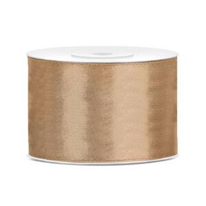 50 mm széles szatén szalag (25 m) – arany