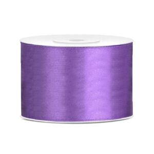 50 mm széles szatén szalag (25 m) – lila