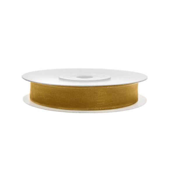 6 mm széles organza szalag (25 m) – arany fc2d3ede80