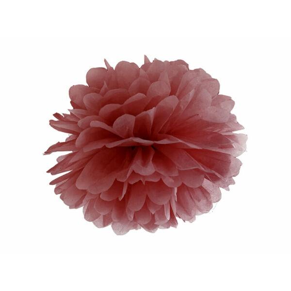 pom-pom 35 cm – bordó
