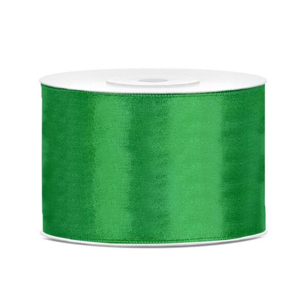 50 mm széles szatén szalag (25 m) – smaragdzöld 3a66c435d9