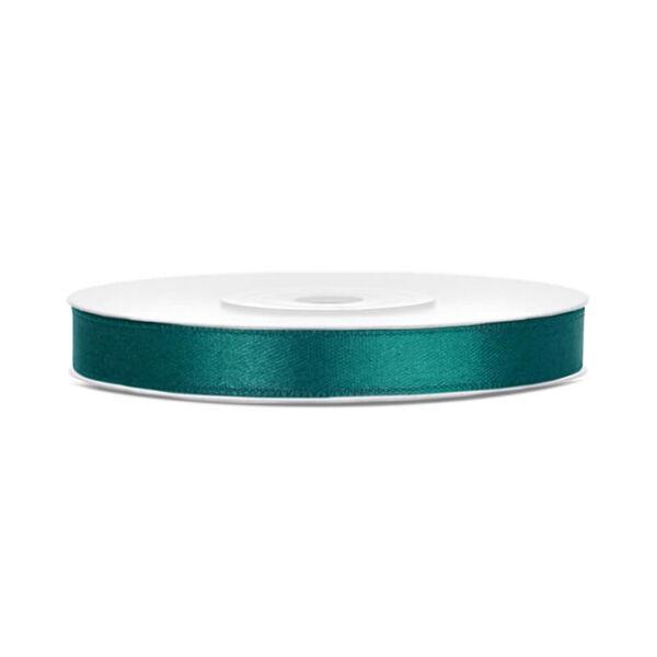 6 mm széles szatén szalag (25 m) – fenyőzöld