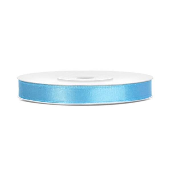 6 mm széles szatén szalag (25 m) – világoskék