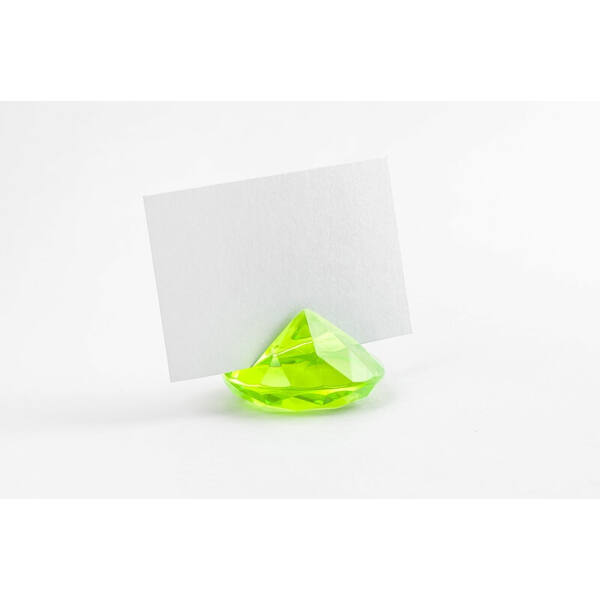 gyémánt ültetőkártya tartó (10 db/cs) – zöld