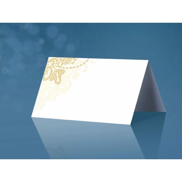 ültetőkártya (25 db/cs) - arany mintás