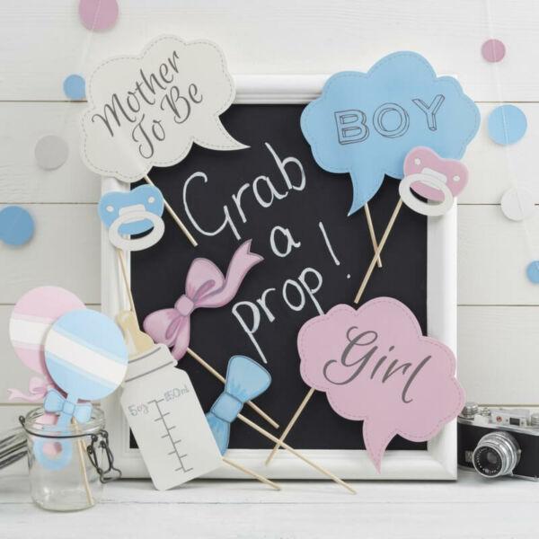 fotókellékek - babaváró, Boy or Girl