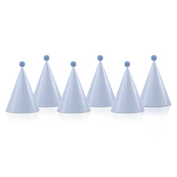 parti kalap (6 db/cs) - kék