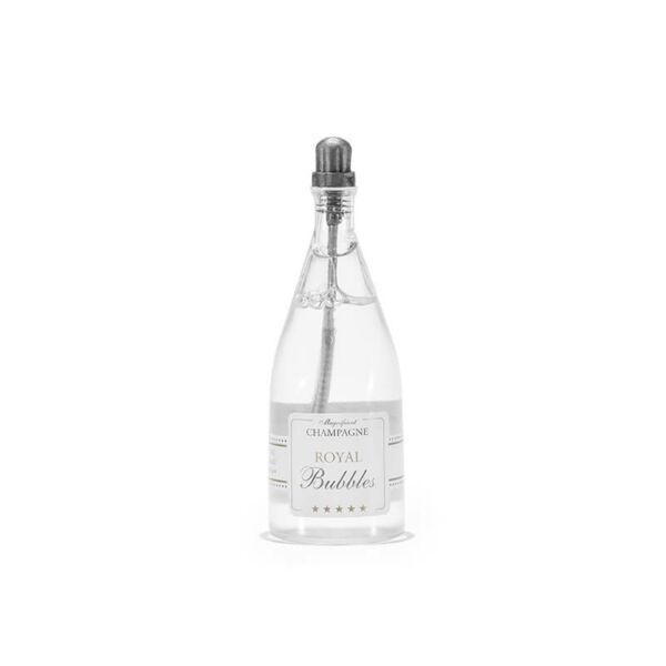 esküvői buborékfújó – pezsgősüveg