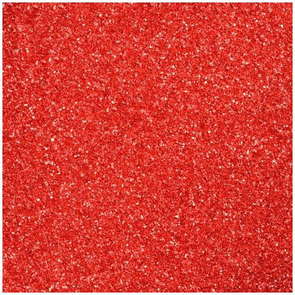 dekorhomok (500 g) - piros