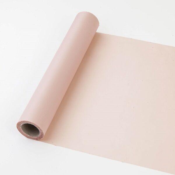 25 cm széles dekorselyem futó (10 m) - púderszín