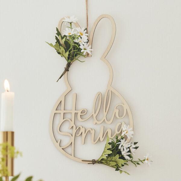 húsvéti fa ajtódísz - hello spring